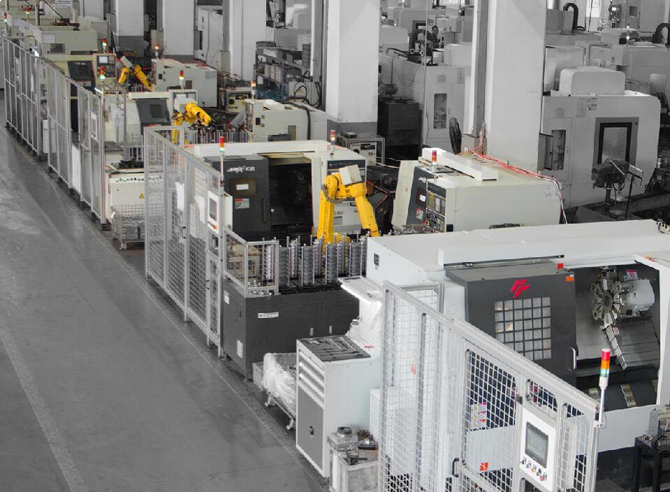 车加工 自动化生产线